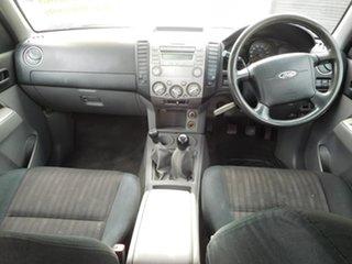2009 Ford Ranger PK XL Crew Cab White 5 Speed Manual Utility