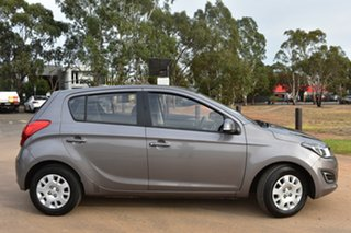2013 Hyundai i20 PB MY13 Active Grey 4 Speed Automatic Hatchback