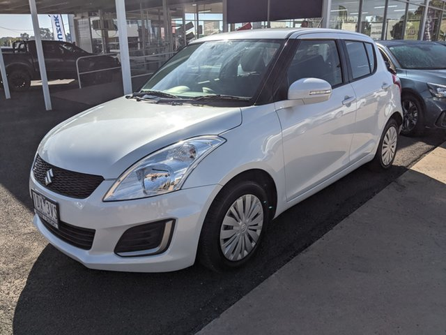 Used Suzuki Swift Epsom, 2014 Suzuki Swift White 5 Speed Automatic Hatchback