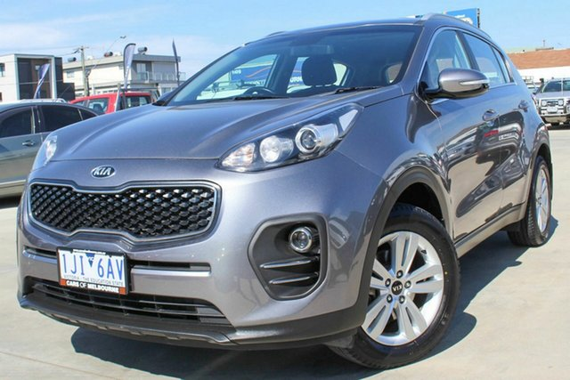 Used Kia Sportage QL MY17 Si 2WD Coburg North, 2016 Kia Sportage QL MY17 Si 2WD Grey 6 Speed Sports Automatic Wagon