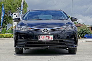 2017 Toyota Corolla ZRE172R Ascent S-CVT Black 7 Speed Constant Variable Sedan.