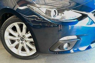 2016 Mazda 3 BM5238 SP25 SKYACTIV-Drive Blue 6 Speed Sports Automatic Sedan.