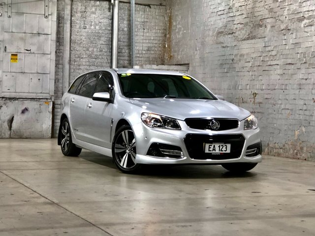 Used Holden Commodore VF MY14 SV6 Sportwagon Storm Mile End South, 2014 Holden Commodore VF MY14 SV6 Sportwagon Storm Silver 6 Speed Sports Automatic Wagon