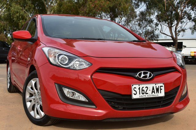 Used Hyundai i30 GD Active St Marys, 2013 Hyundai i30 GD Active Red 6 Speed Sports Automatic Hatchback