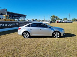 2010 Holden Cruze JG CDX Silver 5 Speed Manual Sedan.