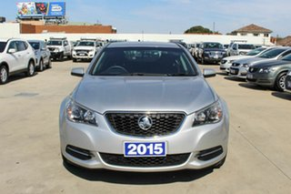 2015 Holden Commodore VF II MY16 Evoke Silver 6 Speed Sports Automatic Sedan