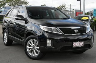2014 Kia Sorento XM MY14 SLi 4WD Black 6 Speed Sports Automatic Wagon.