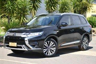2018 Mitsubishi Outlander ZL MY18.5 ES 2WD Black 6 Speed Constant Variable Wagon.