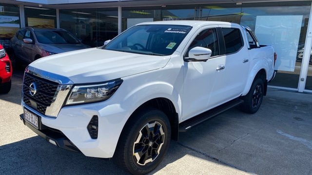 Demo Nissan Navara D23 MY21 ST-X Moorooka, 2021 Nissan Navara D23 MY21 ST-X Solid White 7 Speed Sports Automatic Utility
