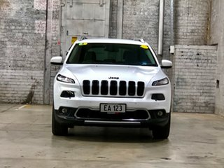 2014 Jeep Cherokee KL MY15 Limited White 9 Speed Sports Automatic Wagon.