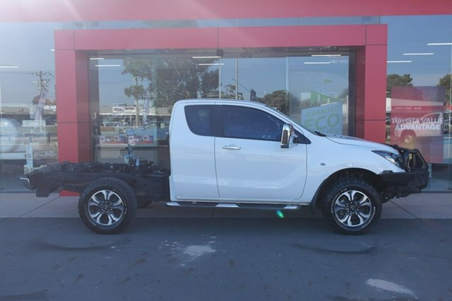 Used Mazda BT-50 UR0YF1 XTR Freestyle Swan Hill, 2016 Mazda BT-50 UR0YF1 XTR Freestyle White 6 Speed Sports Automatic Utility