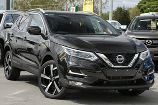 2019 Nissan Qashqai J11 Series 2 Ti X-tronic Pearl Black 1 Speed Constant Variable Wagon.