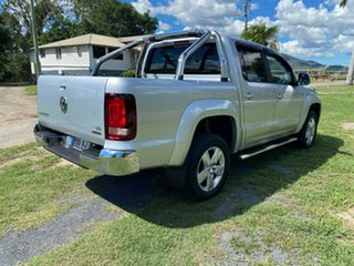 2017 Volkswagen Amarok 2H MY17 TDI550 4MOTION Perm Highline Silver 8 Speed Automatic Utility