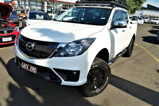 Used Mazda BT-50 UR0YG1 GT Seaford, 2018 Mazda BT-50 UR0YG1 GT White 6 Speed Sports Automatic Utility