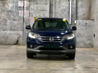 2013 Honda CR-V RM MY14 DTi-L 4WD Blue 5 Speed Sports Automatic Wagon.
