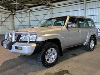 2006 Nissan Patrol GU IV MY05 ST Silver 5 Speed Manual Wagon.