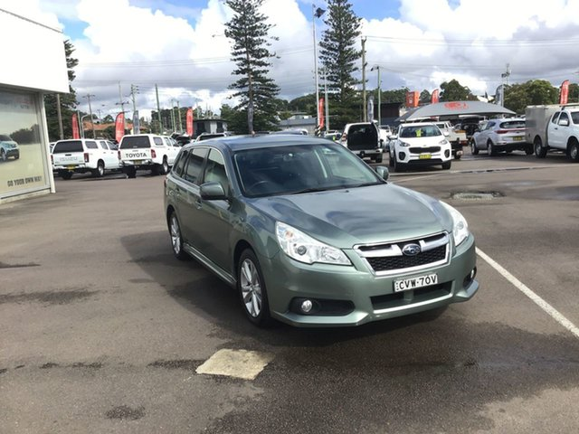Used Subaru Liberty B5 MY13 2.5i Lineartronic AWD Cardiff, 2013 Subaru Liberty B5 MY13 2.5i Lineartronic AWD Green 6 Speed Constant Variable Wagon