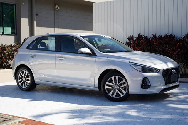 Used Hyundai i30 PD2 MY18 Active Cairns, 2018 Hyundai i30 PD2 MY18 Active Silver 6 Speed Sports Automatic Hatchback