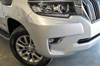 2017 Toyota Landcruiser Prado GDJ150R VX Silver 6 Speed Sports Automatic Wagon.