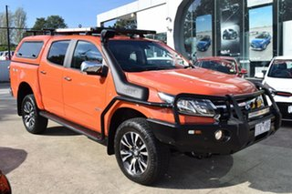 2018 Holden Colorado RG MY18 LTZ Pickup Crew Cab Orange 6 Speed Sports Automatic Utility.