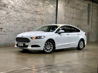 2016 Ford Mondeo MD Ambiente White 6 Speed Sports Automatic Hatchback.