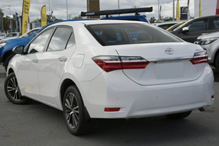 2017 Toyota Corolla ZRE172R SX S-CVT White 7 Speed Constant Variable Sedan.