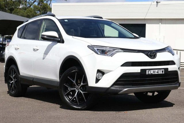 Used Toyota RAV4 ZSA42R GXL 2WD North Gosford, 2018 Toyota RAV4 ZSA42R GXL 2WD White 7 Speed Constant Variable Wagon