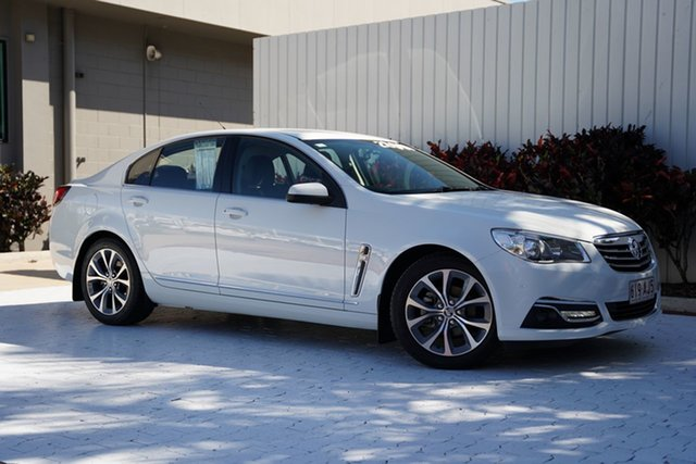 Used Holden Calais VF MY15 Cairns, 2015 Holden Calais VF MY15 White 6 Speed Sports Automatic Sedan