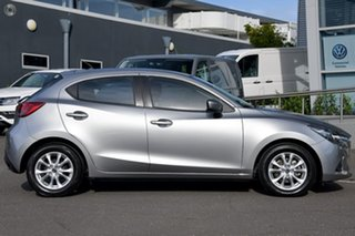 2018 Mazda 2 DJ2HAA Maxx SKYACTIV-Drive Silver 6 Speed Sports Automatic Hatchback.