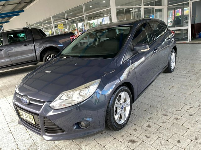 Used Ford Focus Trend Taree, 2013 Ford Focus Trend Grey Sports Automatic Dual Clutch Hatchback