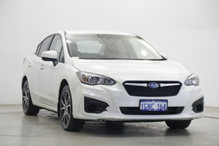 2018 Subaru Impreza G5 MY18 2.0i CVT AWD White Pearl 7 Speed Constant Variable Sedan