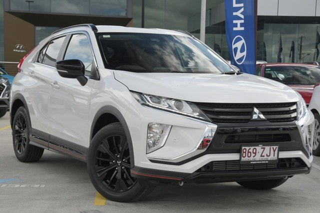 Used Mitsubishi Eclipse Cross YA MY19 Black Edition 2WD Aspley, 2018 Mitsubishi Eclipse Cross YA MY19 Black Edition 2WD White 8 Speed Constant Variable Wagon