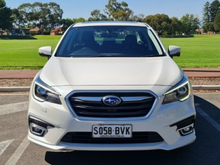 2017 Subaru Liberty B6 MY17 2.5i CVT AWD Premium White 6 Speed Constant Variable Sedan.