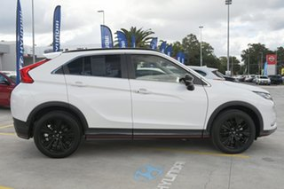 2018 Mitsubishi Eclipse Cross YA MY19 Black Edition 2WD White 8 Speed Constant Variable Wagon