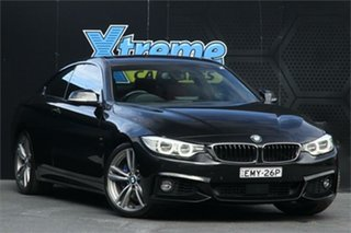 2013 BMW 4 Series F32 435i Black 8 Speed Sports Automatic Coupe.