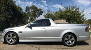 2009 Holden Ute VE MY09.5 SS V Silver 6 Speed Manual Utility