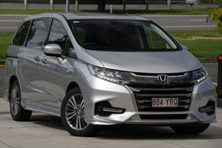 2018 Honda Odyssey RC MY18 VTi-L Silver 7 Speed Constant Variable Wagon.