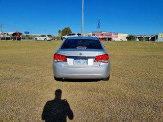 2010 Holden Cruze JG CDX Silver 5 Speed Manual Sedan