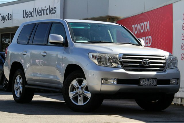 Pre-Owned Toyota Landcruiser Glen Waverley, Landcruiser Wagon Sahara 4.5L T Diesel Automatic