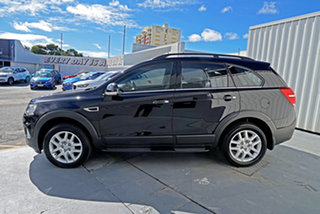2017 Holden Captiva CG MY17 Active 2WD Black 6 Speed Sports Automatic Wagon