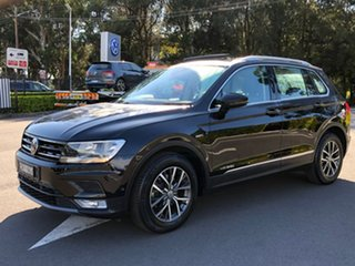 2016 Volkswagen Tiguan 5N MY17 110TSI DSG 2WD Comfortline Black 6 Speed Sports Automatic Dual Clutch