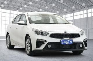 2020 Kia Cerato BD MY21 S Clear White 6 Speed Sports Automatic Sedan.