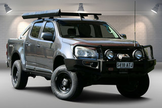 2012 Holden Colorado RG MY13 LX Crew Cab Grey 6 Speed Sports Automatic Utility.