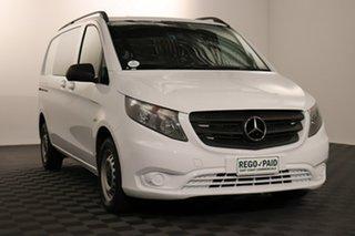 2015 Mercedes-Benz Vito 447 114BlueTEC SWB 7G-Tronic + Arctic 7 speed Automatic Van.