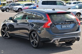 2015 Volvo V60 F Series MY15 T5 Geartronic R-Design Grey 8 Speed Sports Automatic Wagon.