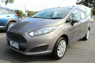 2016 Ford Fiesta WZ Trend PwrShift Brown 6 Speed Sports Automatic Dual Clutch Hatchback.