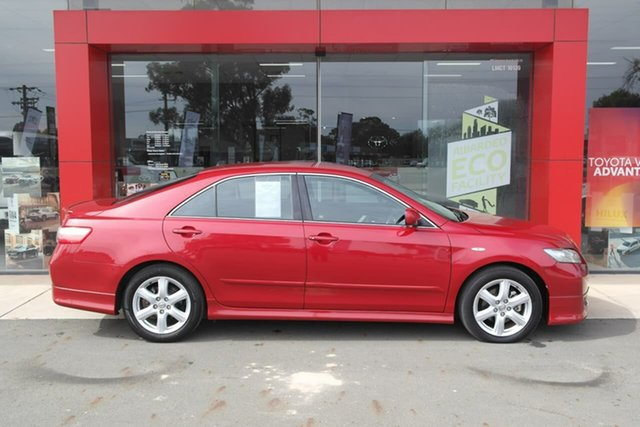 Used Toyota Camry ACV40R Sportivo Swan Hill, 2006 Toyota Camry ACV40R Sportivo Red 5 Speed Automatic Sedan