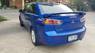 2011 Mitsubishi Lancer CJ MY11 SX Blue 6 Speed CVT Auto Sequential Sedan