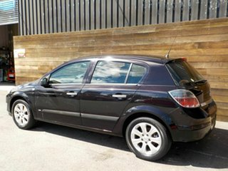 2008 Holden Astra AH MY08.5 60th Anniversary Black 5 Speed Manual Hatchback