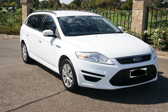 Used Ford Mondeo MC LX TDCi Blair Athol, 2013 Ford Mondeo MC LX TDCi White 6 Speed Direct Shift Hatchback